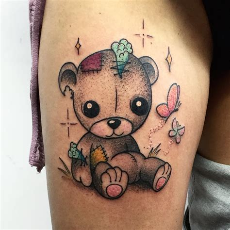 teddy bear tattoo design 31 designs ideas design trends
