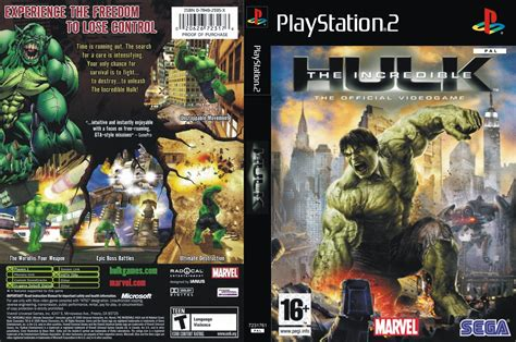 emuparadise game ps2 incredible hulk the usa iso