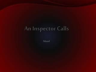 themes in an inspector calls powerpoint ppt an inspector calls answering questions on themes