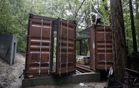 container home blog 8 x40 shipping container home design shipping container homes modulus six oaks santa cruz