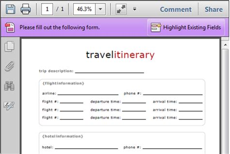 airline itinerary template flight itinerary template 8jzfli7c directions