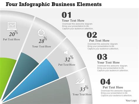 Ppt What Makes A Company - 0414 business consulting diagram four infographic business
