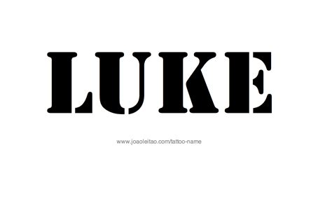 tattoo ideas for the name luke luke name tattoo designs