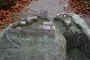 file model of peveril castle jpg wikimedia commons
