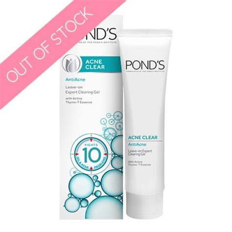 Ponds Detox For Acne Prone Skin Review by Pond S Acne Clear Antiacne Leave On Expert Clearing Gel