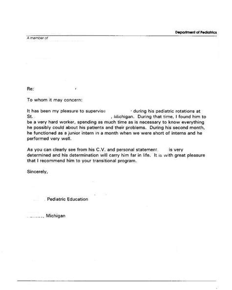 recommendation letter for honor society best template