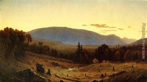 twilight painting sanford robinson gifford mountain twilight