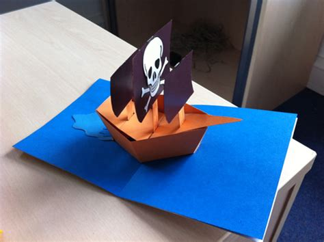 pirate ship pop up card template pop up pirate ship pictures to pin on pinsdaddy