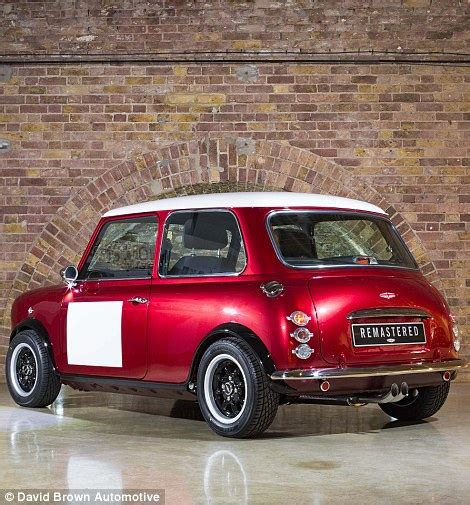 Mini Original mini remastered creates new classic shape cars for 163 75k