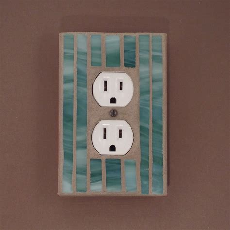 decorative outlet covers green decorative outlet cover wall outlet plate stained