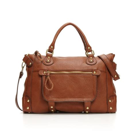 Burch Tote Vs Steve Madden Bag by Steve Madden Btaylor Large Tote In Brown Cognac Lyst