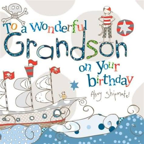 Grandson Birthday Card Birthday Wishes For Grandson Page 6 Nicewishes Com