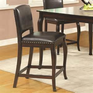 Nail Bar Table And Chairs Bar Units And Bar Tables Bar Stool With Black Vinyl Seat And Back And Nail Trim C T105237