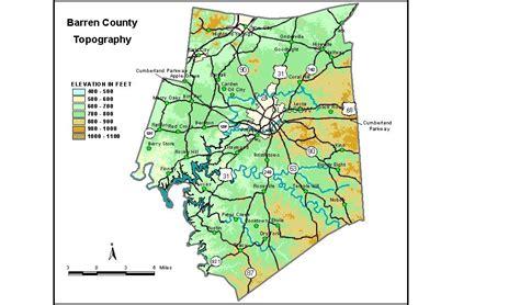 kentucky karst map groundwater resources of barren county kentucky