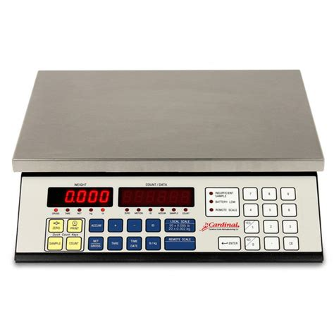 2240 series digital counting scales made in usa scales cardinal 2240 series counting scale certified weighing