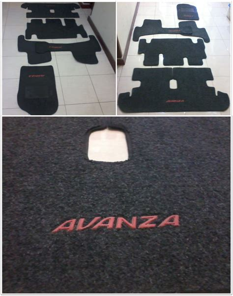 jual karpet dasar bludru all new avanza grand new avanza