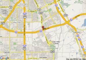 Dallas Road Map by Map Of Dallas Days Inn Lancaster Road Dallas