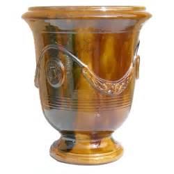 vase anduze en terre cuite 233 maill 233 e coloris 216 40 x