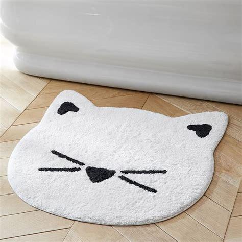 the emily amp meritt cat bath mat pbteen