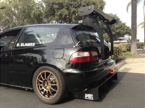 hatchback race cars 1993 honda civic hatchback time attack race car