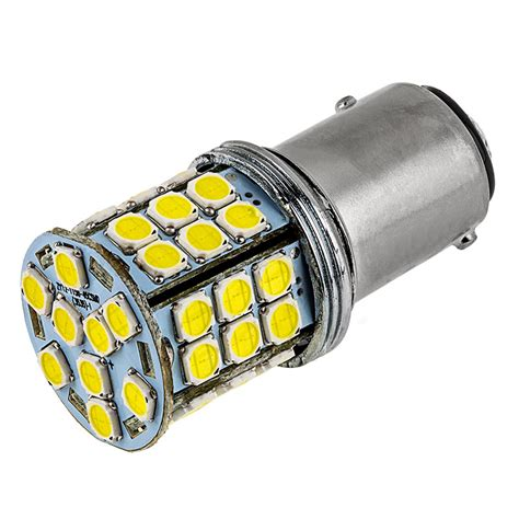 1157 led bulb dual function 45 smd led tower bay15d