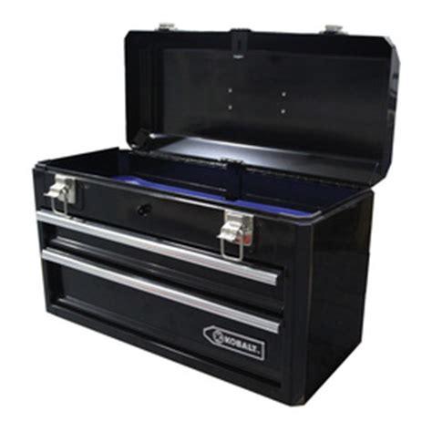 Kobalt 6 Drawer Tool Chest by Shop Kobalt 20 6 In 0 Drawer Lockable Black Steel Tool Box