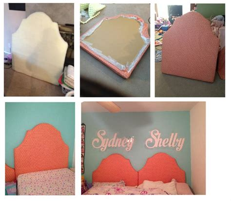 Diy Foam Headboard Best 25 Cardboard Headboard Ideas On Pinterest Diy Fabric Headboard Foam Headboard And