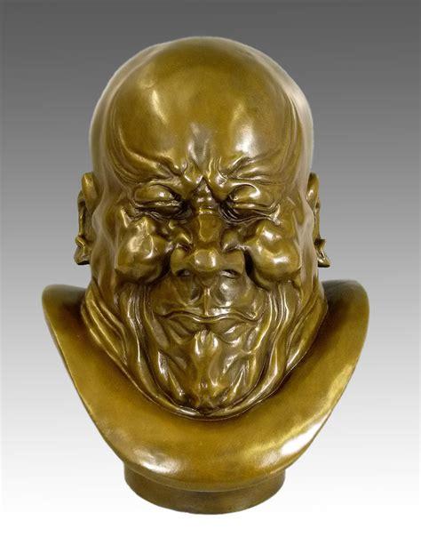 franz xaver messerschmidt arch villain bronze sculpture