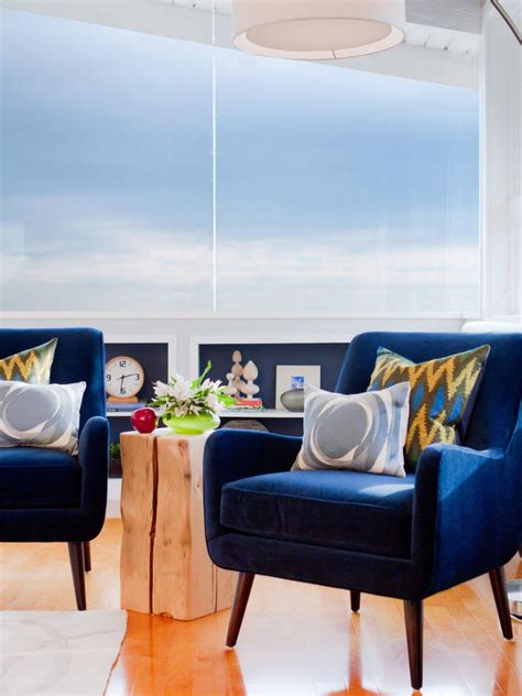 Blue Arm Chair Design Ideas Design Trend Decorating With Blue Color Palette And Schemes For Rooms In Your Home Hgtv