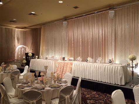 Champagne Bling Wedding #wedding #reception #vintage #lace