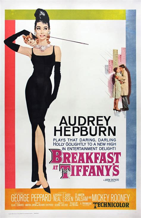 Breakfast At Tiffanys 1961 Review And Trailer by Breakfast At S Retro Posterretro Poster