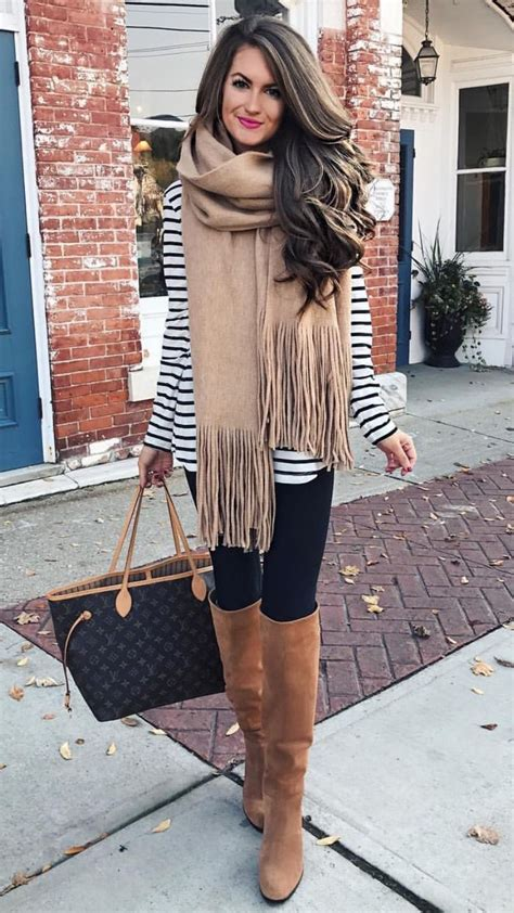 striped tunic leggings boots whitestripes black