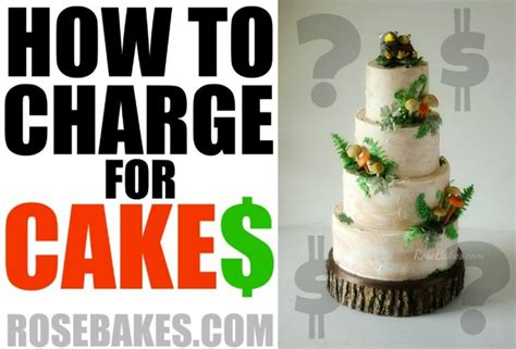 How Much Does A Baby Shower Cake Cost by How To Charge For Cakes Bakes