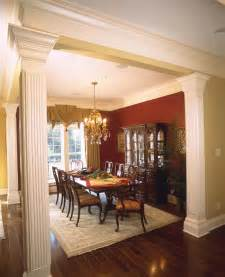 dining room pictures dining rooms with columns room ornament