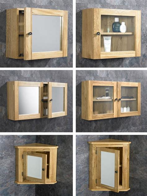 solid oak wall mounted bathroom mirror cabinet and shelves solid oak wall mounted corner and square bathroom storage