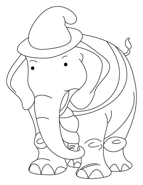 pretty elephant coloring pages cute elephant coloring pages az coloring pages