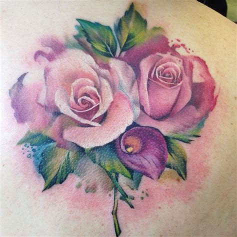 rose bunch tattoo gorgeous lianne moule moule