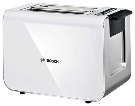 Bosch Toaster Bosch Styline Sensor Toaster Tat8611gb White Modern