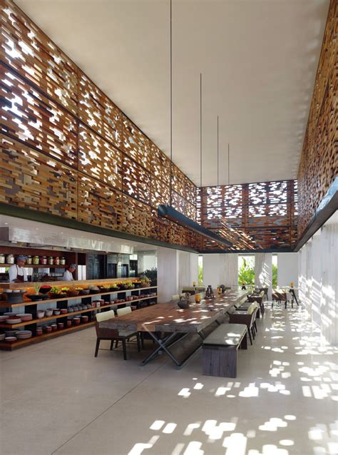 indonesian food design alila villas uluwatu woha archdaily