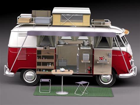 volkswagen models van 3d model van volkswagen 1950