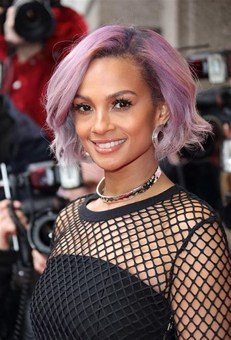 alesha dixon hair color alesha dixon debuts a drastic new hairstyle