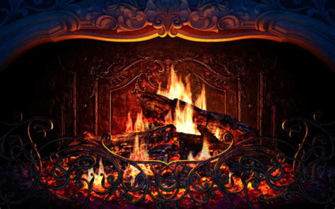 screensaver camino screensaver camino virtuale animato fireplace 3d