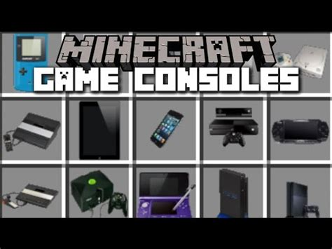 download game console mod 1 7 10 1 7 10 decorative videogame systems mod download