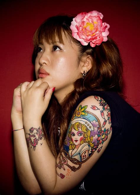 japanese lady tattoo designs beautiful tattoos ideas for pictures