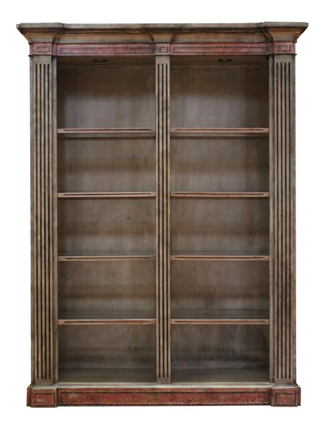 French Country Style Bookcase Chairish Country Style Bookshelves