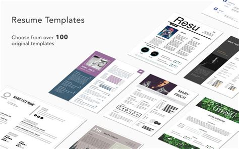 templates for pages graphic node resume templates by graphic node app info