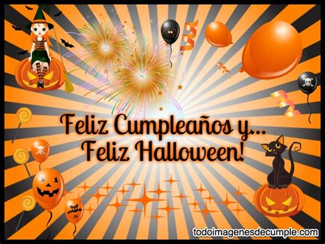 imagenes de feliz halloween feliz cumplea 241 os y feliz halloween