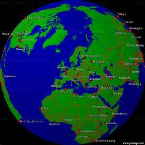 World Globe Map by Primap World Maps