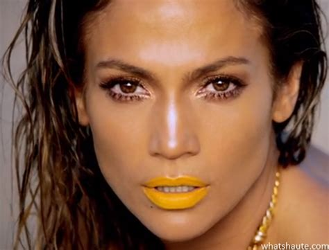 what color of lipstick did jennifer lopez have on on ellens show can jennifer lopez make yellow lipstick a new trend to try