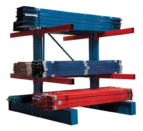 Heavy Duty Cantilever Racks by Cantilever Racking For Warehouse Industrial Storage Qmh Inc